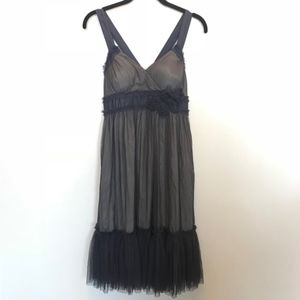 "Anthropologie | Purple ""Spirited Away"" Tulle Dress"